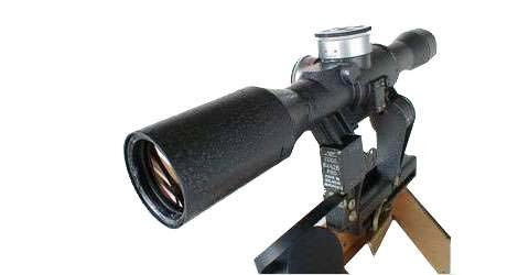 Оптический прицел ПОСП 8x42 В Pro, Сайга