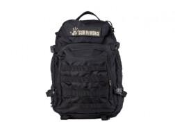 Рюкзак тактический 12 Survivors, черный, TS41000B