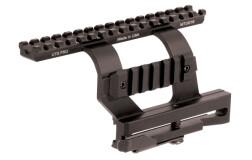 Кронштейн боковой Leapers UTG PRO U978S с верхней базой Weaver для оружия на базе АК MTU016
