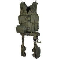 Полная тактическая разгрузка Leapers UTG 10 предметов зеленый цвет PVC-V747KTG