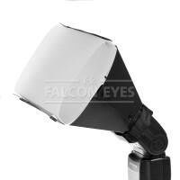 Отражатель Falcon Eyes SR-CA с рассеивателем для накамерной вспышки