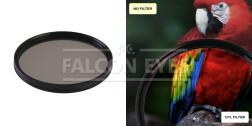 Поляризационный циркулярный фильтр для объектива CPL 58 mm
