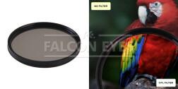 Поляризационный циркулярный фильтр для объектива CPL 62 mm