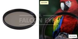 Поляризационный циркулярный фильтр для объектива CPL 72 mm