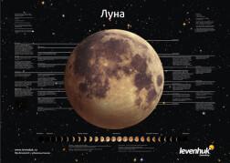 Постер Levenhuk «Луна»