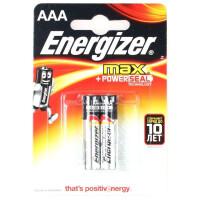 Батарейки Energizer Max AAA 2 шт
