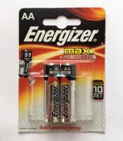 Щелочные батарейки Energizer Max - AA, 2 шт