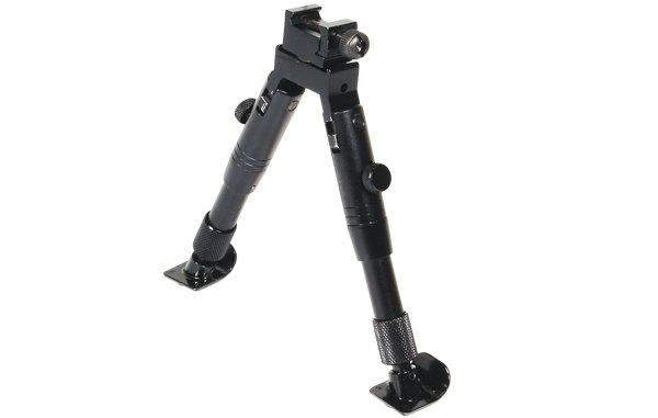 Сошки Leapers UTG TL-BP28ST для установки на антабку / Picatinny, 14-17.2см (стальное основание)