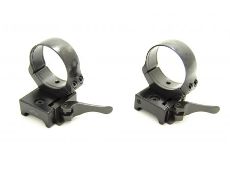 Кольца быстросъемные Apel EAW 34 мм на Weaver средние 365-17800