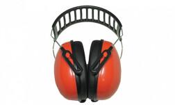Наушники противошумные Artilux Arton, металлическое оголовье, красные