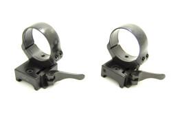 Быстросъемные раздельные кольца EAW Apel Weaver 36 мм, средние 365-18800