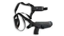 Кобура плечевая VEKTOR из натуральной кожи для Пистолета Ярыгина и Глок - 19 14-40