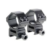 Кольца для прицела Veber 3021 H с окошком 5 мм, BH 14 мм