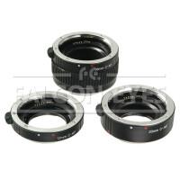 Кольца удлинительные Falcon Eyes C-AF для макросъемки с поддержкой автофокуса для Canon