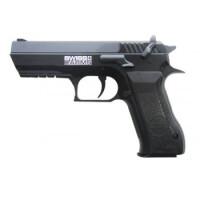 Пистолет пневматический Swiss Arms SA 941 (Jericho 941), к.4,5 мм, металл, черный, 135 м/с, 288014