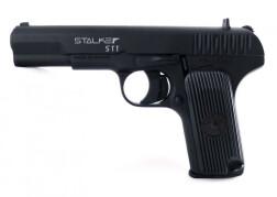 Пистолет пневматический Stalker STT (ТТ) к.4,5мм, металл, 120 м/с, черный ST-21051T