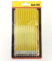 Стрелы для арбалета средние алюминиевые 16 см