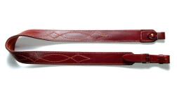Ремень Vektor для ружья из натуральной кожи с подкладкой из велюра и застежкой запанкой, Р-14