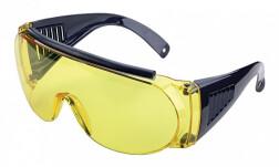 Очки стрелковые Allen защитные, желтые (одеваются поверх обычных очков)