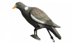 Чучело голубя с лапами на опоре