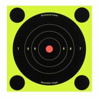 Мишень бумажная Birchwood Shoot•N•C® Bull's-eye Target 150мм, упак