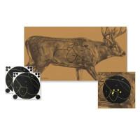 Мишень картонная Birchwood Shoot•N•C® олень с доп.мишенью, 34681