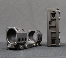 Тактический кронштейн SPUHR 34мм на Picatinny, H28мм, c выносом, без наклона, SP-4011