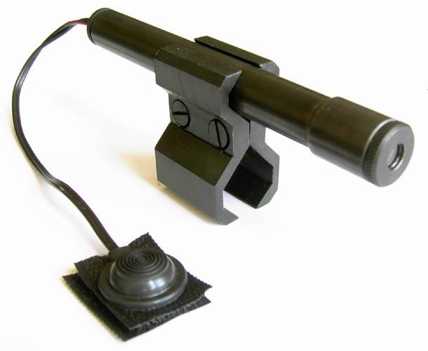 Лазерный целеуказатель АМБА/Сайга-410