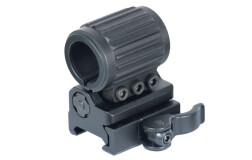 Кронштейн UTG для фонаря, на Weaver/Picatinny, диаметр 20-25мм, RG-FL25QS
