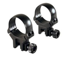 Небыстросъемные кольца Recknagel D30 на 11мм, высота 20мм (41430-2000)