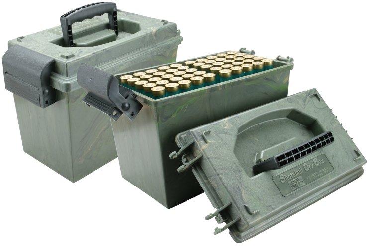 Кейс для 100 патронов 12 калибра MTM SD-100-12-09