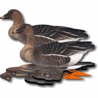 Комплект чучел гусей NRA FUD Bean Goose (Гуменник), упак 6шт