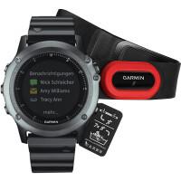 Часы Garmin Fenix 3 Sapphire HRM с металлическим браслетом 010-01338-26