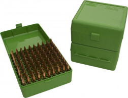 Кейс для патронов (нарез. оруж) MTM RM-100-10
