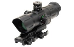 "Коллиматор UTG 6"" ITA Red/Green CQB T-dot Sight with Offset QD Mount SCP-TDTDQ"