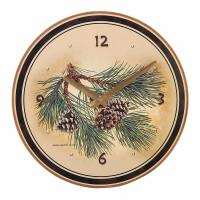 Часы настенные TMB Designs Шишки, CL7