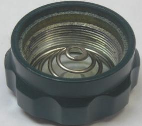 Крышка контейнера батарей Yukon NVRS (в сборе) черная