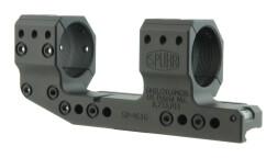 Небыстросъемный моноблок SPUHR с вын., кольца 34 мм, BH 37 мм на Picatinny, встр. уровень, н. 6 Mil, SP-4616