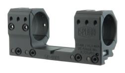 Небыстросъемный моноблок SPUHR, кольца 34 мм, BH 30 мм на Picatinny, встр. уровень, н. 13 Mil, SP-4801