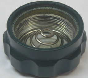 Крышка контейнера батарей Yukon NVRS (в сборе) зеленая