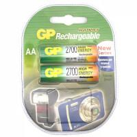 Перезаряжаемые аккумуляторы GP AA 2700мАч, 2 шт