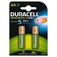 Аккумуляторы Duracell Turbo AA, 2 шт
