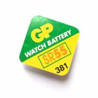 Батарейка для часов GP Silver Oxide SR55