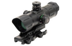"Коллиматор Leapers UTG 6"" ITA Red/Green CQB Dot Sight With Offset QD Mount SCP-TDSDQ"