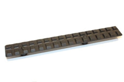 Планка Picatinny для быстросъемный кронштейнов МАК на едином основании и MAK FLEX 2460-50120 (длина 120мм)