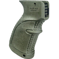 Пистолетная рукоятка прорезиненная FAB Defense AGR-47 для AK 47/74/Сайга, зеленая