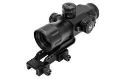 Призматический прицел UTG Prismatic Compact 4x32, Mil-Dot