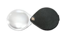 Лупа складная двояковыпуклая ручная (карманная) Eschenbach classic, Ø 50 мм, 3.5х (10.0 дптр), черная