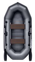 Надувная лодка ПВХ Apache 240 графит