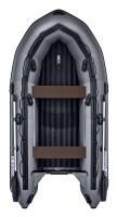 Надувная лодка ПВХ Apache 3300 НДНД графит